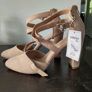Nude High Heels from New Look